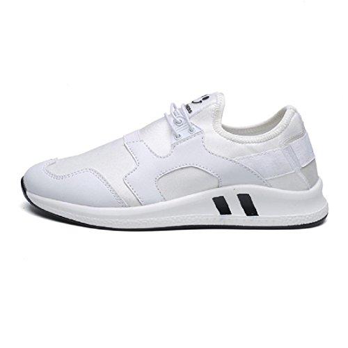 Chaussures De Sport Faible Argent / Blanc Heine ITK5e