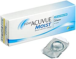 Acuvue 1-Day Moist for Astigmatism Tageslinsen weich, 30 Stück / BC 8.5 mm / DIA 14.5 / CYL -0.75 / Achse 170 / -2.5 Dioptrien