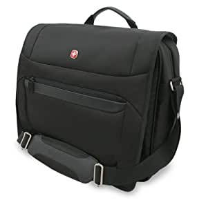 Wenger Messenger Style Bag for 16 inch Laptop and Tablet - Black