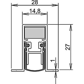 Athmer Türdichtung SCHALL-EX DUO L-15/28 OS 833mm 2-seitig m. Zubehör (5420)