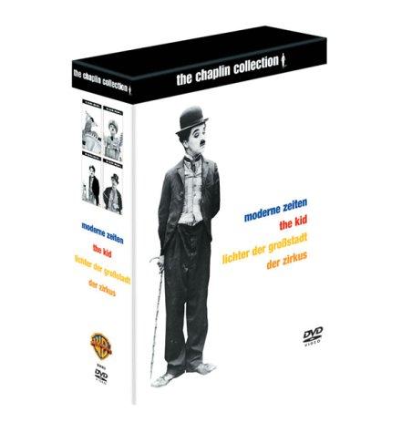 Bild von The Chaplin Collection 1 (Moderne Zeiten, The Kid, Lichter der Großstadt, Der Zirkus) [8 DVDs]