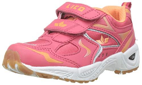 Lico Mädchen Bob V Multisport Indoor Schuhe, Mehrfarbig (Lachs/Orange), 29 EU (Schuhe Für Orange, Mädchen)