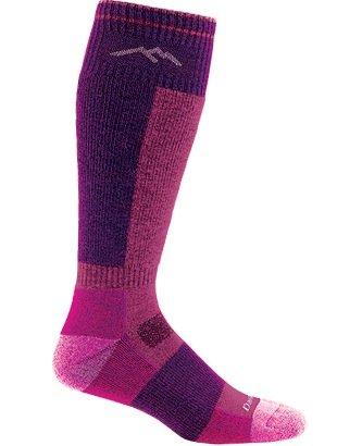 Darn Tough Vermont Merino Wolle over-the-calf Kissen Socke Night Shade