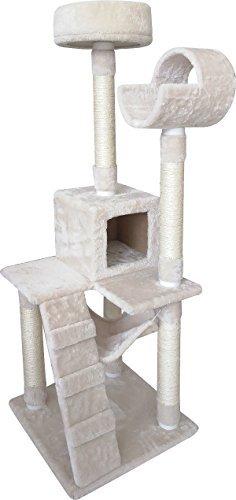 Penn-Plax 137,2cm SLS Klima Pocket Deluxe 5Level Cat Tree mit mehrere Kratzstämme -