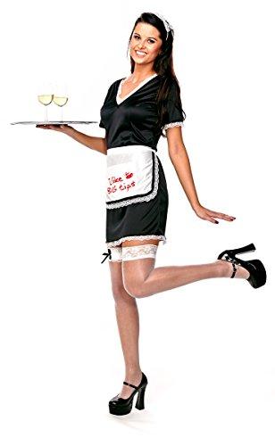 Folat 21937 -Frauen Sexy Kellnerin Kostüm, L-XL