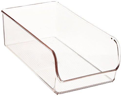 InterDesign Linus Aufbewahrungsbox Speisekammer-Organizer, 14 cm, transparent