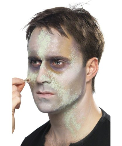 Zombie Make-Up-Set Halloween 7-teilig (Up Grüne Halloween Make)