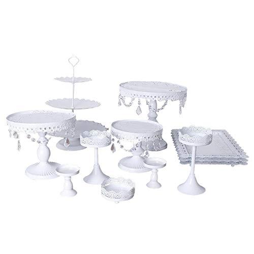yizhi2325 12 Unidades/Juego de Exhibición de Soportes de Torta, Tenedor de Postre,...