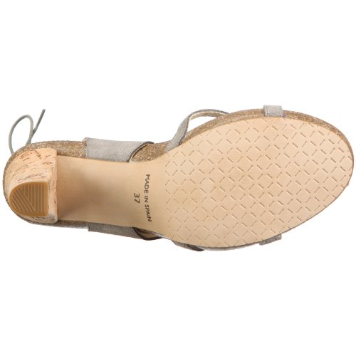 John W. Shoes Leticia 1083, Sandales mode femme Gris-TR-C1-34