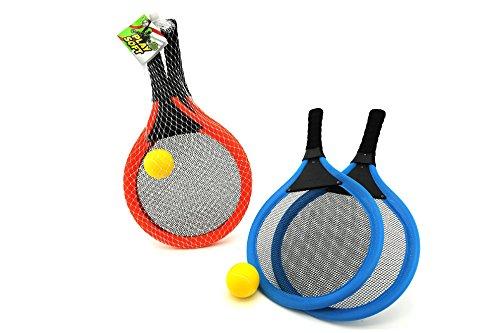 Preisvergleich Produktbild Globo Toys Globo–376422Farbe Sommer Strand Tennis Paddel mit Weiche Ball (2)