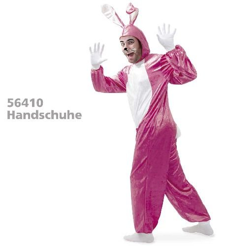 (Hase Bunny Pink Rabbit Kostüm XXL)