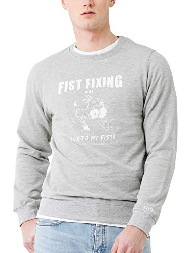 Scalpers Fixing Sweater - Sudadera sin Capucha Hombre