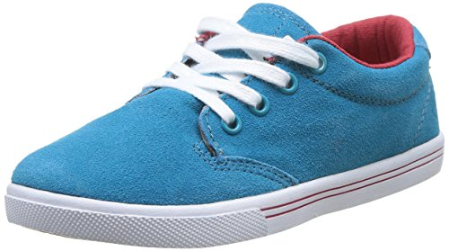 Globe Lighthouse Slim, Unisex-Kinder High-Top Sneaker, Blau (12079 Aqua Blue), 33.5 EU (Kinder Globe Schuhe)