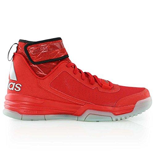 adidas Sneaker Uomo Rouge / Noir / Blanc / Argent