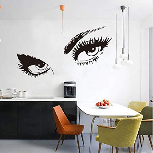 Audrey Hepburn'S Eyes Silhouette Wall Sticker Decals Home Decor Stickers Wall Poster