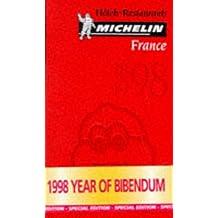 Le Guide Rouge France 1998 : Hôtels et restaurants