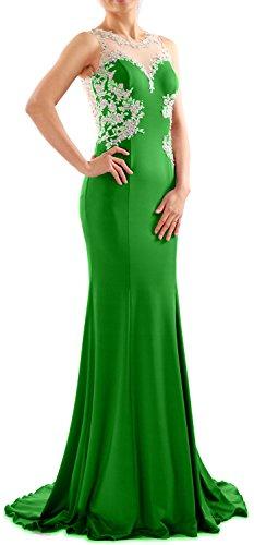 MACloth - Robe - Moulante - Sans Manche - Femme Vert - Vert