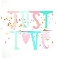 A Little Lovely Company - Guirnalda Letras Para Banner, Color Pastel