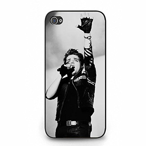 Coque iphone 5 5s Band MCR Cover Shell Cool Personalized Gerard Way Alternative/Indie Rock Band My Chemical Romance Phone Case Cover for Coque iphone 5 5s,Cas De Téléphone