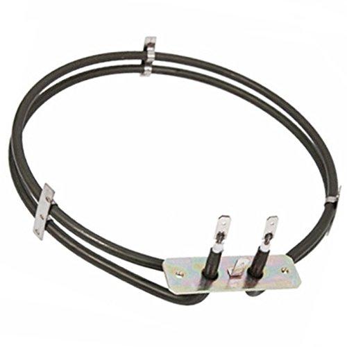 Spares2go elemento calefactor de 2a su vez para Logik Ventilador Horno/Cocina (2100W)