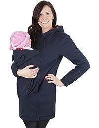 Mija -Maternité chaude Sweat a capuche / Pull pour deux / Pour porter les bébés 3073A