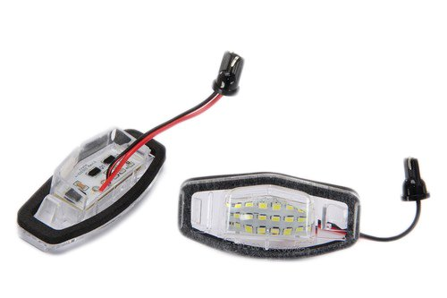 Handycop® Kennzeichenbeleuchtung für Civic 7 / Accord 7 Limousine / Legend / Civic MK8 / City Limousine / MR-V - Xenon Optik - Mit Zulassung