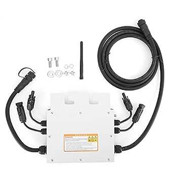 Mikro Wechselrichter Gitter Gleichheit Solarwechselrichter 600w Gitter Wechselrichter 120v 230v Gab Ip65 Wasserdichten Solarwechselrichter Aus Gewerbe Industrie Wissenschaft