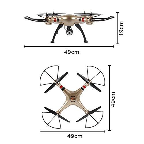 Syma X8HW (aggiornamento del popolare Syma X8W) 2.4GHz 6-Axis Gyro Wifi FPV con la macchina fotografica HD RC Quadcopter Drone (X8HW) - 7