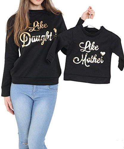 new-ladies-kids-girls-matching-like-mother-like-daughter-sweatshirt-jumper-top-grey-silver-black-uk-