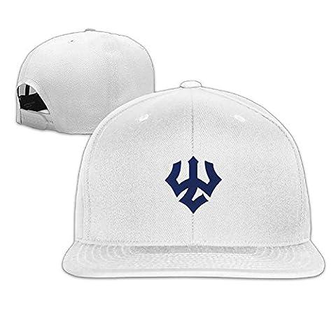 Unisex Adjustable Washington And Lee University Baseball Cap Snapback Hip Hop Flat HatWhite