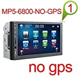 2 din Car DVD Player 7'' Universal Double Din GPS Navigation Video Mutimedia