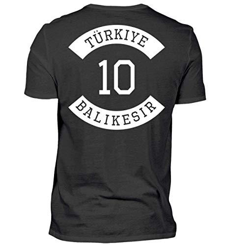ALBASPIRIT Türkiye 10 Balikesir T-Shirt Ayyildiz Türkei Geschenk - Herren Shirt
