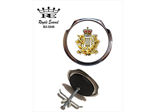 Preisvergleich Produktbild Royale Emaille Royale Car Grill Badge – Corps of Army Musik Camus B2. 3046
