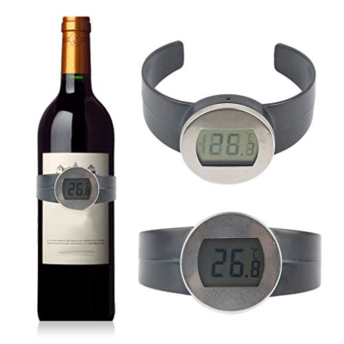 Kongnijiwa Vino Tinto eléctrica Digital termómetro
