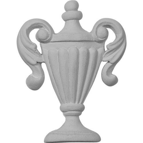 Ekena Millwork ONL02X03X01FE 2 1/2-Inch W X 3 1/4-Inch H X 3/8-Inch P Federal Urn Onlay by Ekena Millwork -