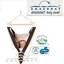 KANGOO Federwiege KomplettSet mit Einlage Sunny - Babywiege, Babyhängematte, Kuschelnest von Amazonas
