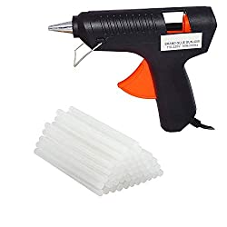 billionBAG Melt Glue Gun Kit is an easy use adhesive tool not only in DIY crafts making but also in daily quick repairs. The glue sticks come with the Melt Glue Gun Kit is environmental-friendly, it has super strong adhesive when glue between 2 diffe...