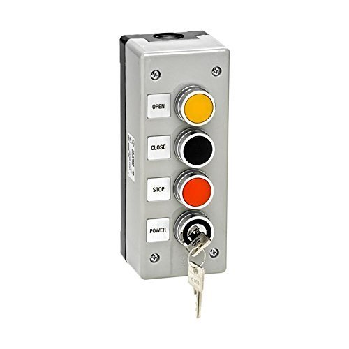 3BXLT Nema 4 Exterior Three Button With Lockout Surface Mount Control Station by MMTC