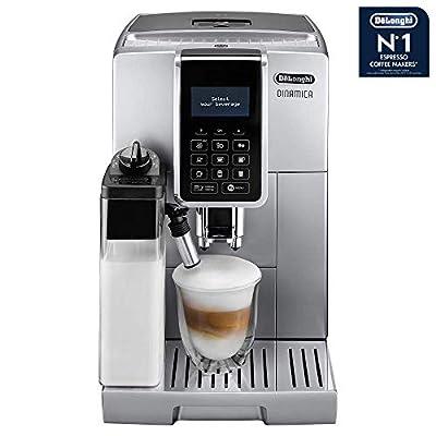 Delonghi ECAM 350.75.s Pod Coffee Machine 1.8L-Coffee (Freestanding, Fully Automatic, Pod Coffee Machine, Coffee Beans, Ground Coffee, Silver, Sensor) by DeLonghi