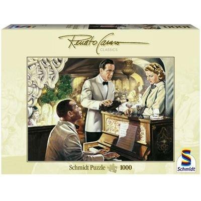 Preisvergleich Produktbild Schmidt Spiele - Renato Casaro, Spiels noch einmal Sam, 1000 Teile Puzzle