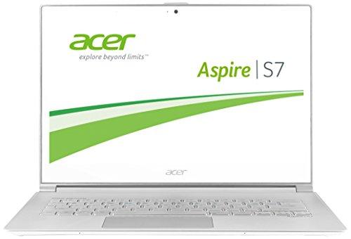 Acer Aspire S7-393-75508G25ews 33,8 cm (13,3 Zoll WQHD IPS) Notebook (Intel Core i7-5500U, 3,0GHz, 8GB RAM, 256GB SSD, Intel HD Graphics 5500, Win 8.1) weiß (Laptop Aspire Acer S7)