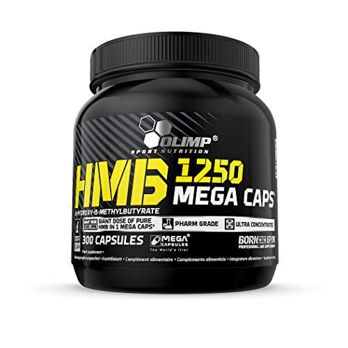 OLIMP SPORT NUTRITION HMB Mega Caps 1250 mg 300 Capsules