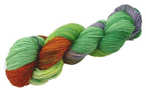 Manos del Uruguay Alegria Merinowolle mit Farbverlauf, Sockenwolle handgefärbt, Fb. A9239 Periquito, 100g ca. 405m -