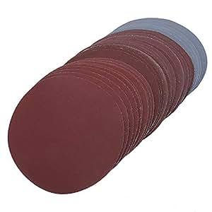 Mix Körnung Schleifscheiben 125 mm 5 Inch Körnung 800 1000 1200 1500 2000 3000 Haken Loop Schleifpapier rund Schleifpapier Disk Sand Tabelle 30 Stück/lot