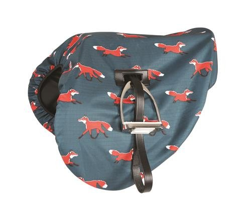 Image of Waterproof Ride On Saddle Cover Sheep Print