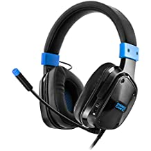 Empire Gaming H800 - Casco para gamersmultiplataformasonidoestéreoaltadefinición, micro flexible y auriculares confortables. Jack de 3,5 mm compatible con PC/MAC y consolas PS4/XBOX ONE*/NINTENDO SWIT