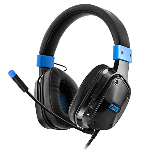 Empire Gaming H800 - Cuffia Gamer Multipiattaforma Audio stereoaltadefinizione, micro-flessibile con comodiauricolari. Jack 3.5 mm compatibile PC / MAC e console PS4 / XBOX ONE*