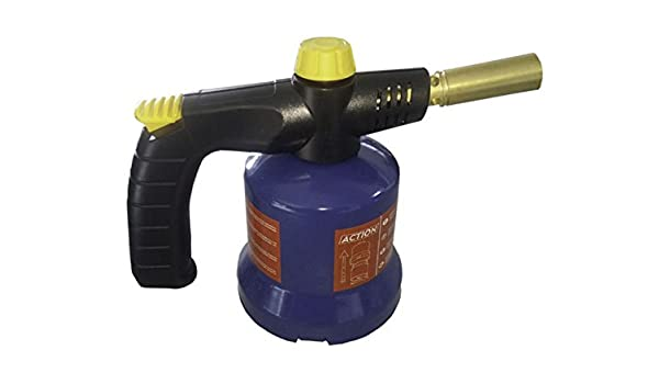 Bruciatore Bunsen a cartuccia a Gas Fiamma Ossidrica Cannello piezo saldatore