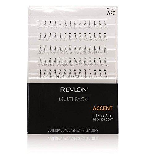 Revlon Accent Multi Pack Ciglia A70, 1er Pack (1X 70pezzi)