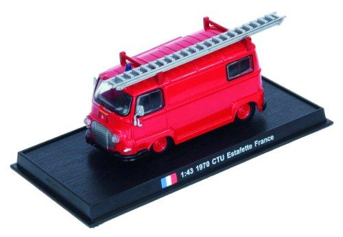 CTU Estafette - 1970 diecast 1:43 fire truck model (Amercom SF-45)